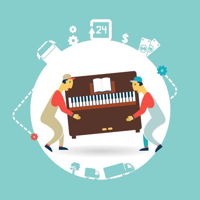 mudanzas pianos Málaga