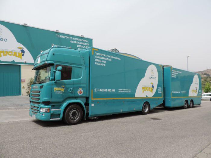 tipos de camiones de mudanzas Torremolinos