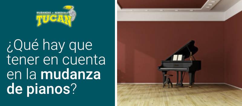 Que hay que tener en cuenta en la mudanza de pianos