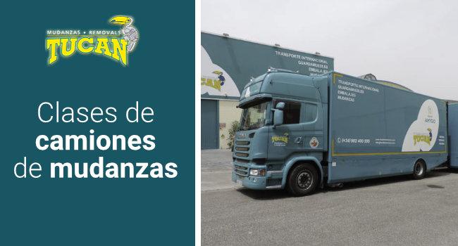 tipos de camiones de mudanzas